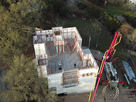 Austin Touchstone Builders - Net Zero Model Home - ICF Pre-Pour