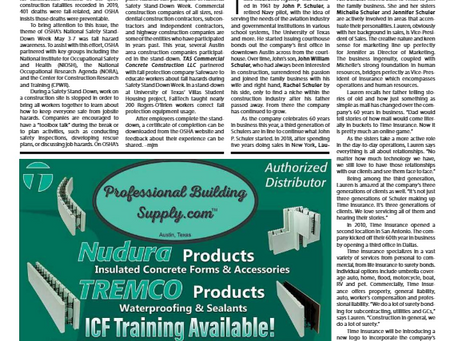 Professional Building Supply is featured in Construction News Newspaper!