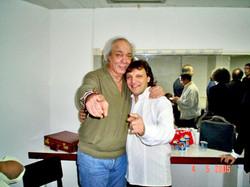 Com Erasmo Carlos no Canecão - 2005