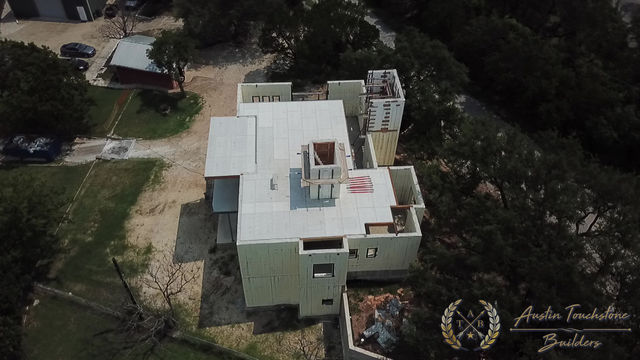 Austin Touchstone Builders - 3rd level ICF Stack Poured