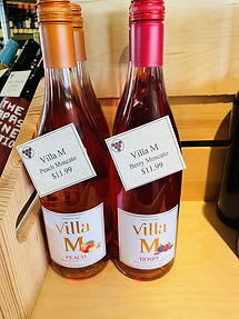 Villa M Peach and Berry Moscato