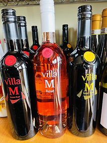 Villa M Bianco, Rose & Rosso Moscato