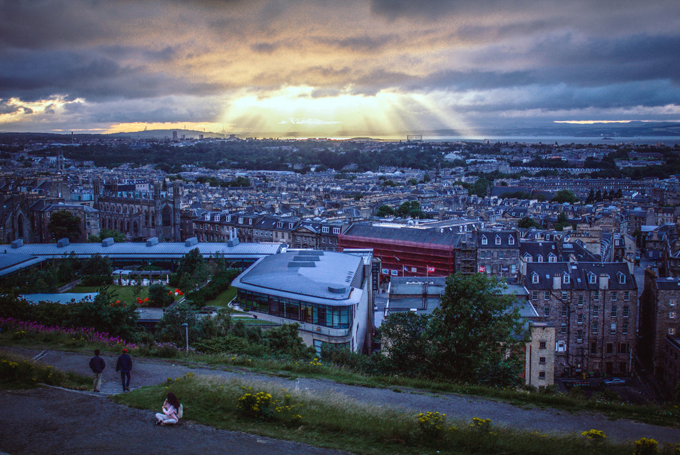 View from Calton Hill