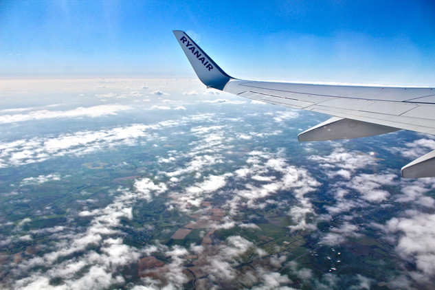 We flew Ryanair from London to Porto and enjoyed a beautiful view from the top.