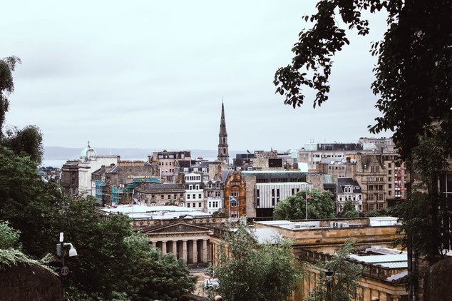 View of Edinburgh from Old Town