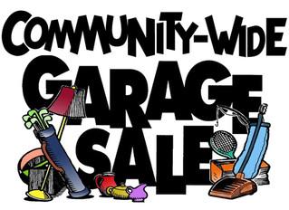 Spring Community Garage Sale