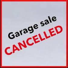 Spring Community Garage Sale - Cancelled
