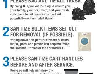 Community Waste Disposal COVID-19 Update