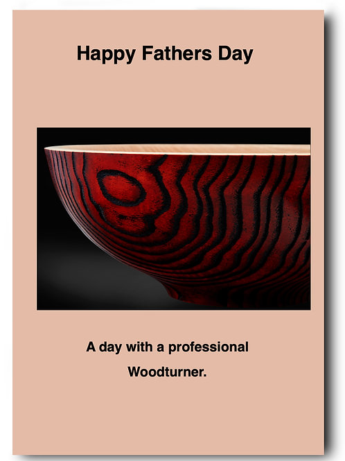 Gift Card for Woodturning Experience from £99