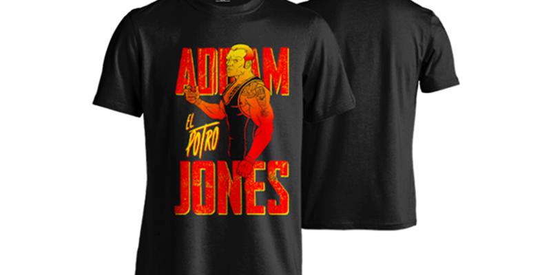 T-Shirt | Addam Jones: El Potro #1