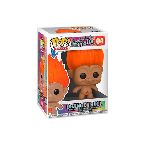 POP! Vinyl Figure | Good Luck Trolls:Orange Troll 04