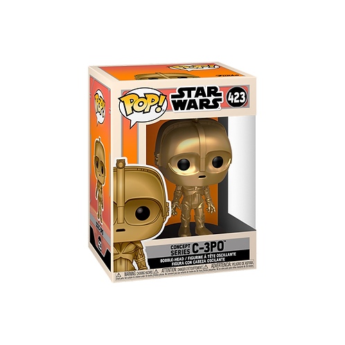 POP! Vinyl Figure   Star Wars: C-3PO (Concept Series) 423