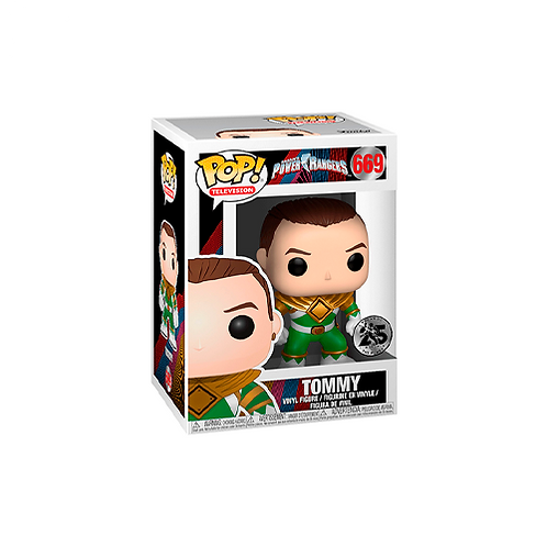 POP! Vinyl Figure | Power Rangers: Tommy 669 (You Have Got The Power)