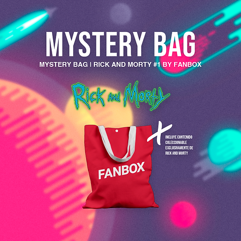 MYSTERY BAG | Rick And Morty #1