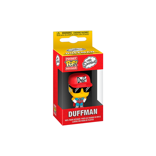 Pocket POP! Keychain | The Simpsons: Duffman