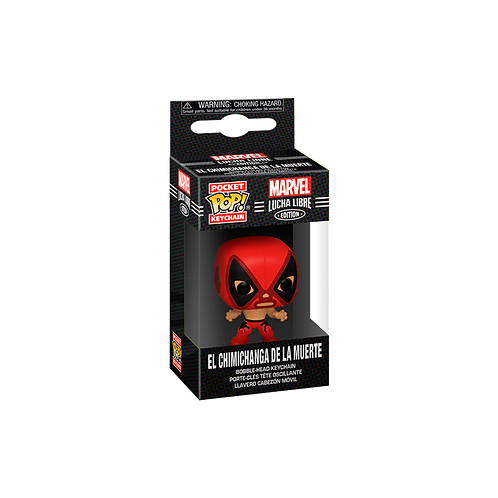 Pocket POP! Keychain | Marvel: Lucha Libre Edition: El Chimichanga De La Muerte