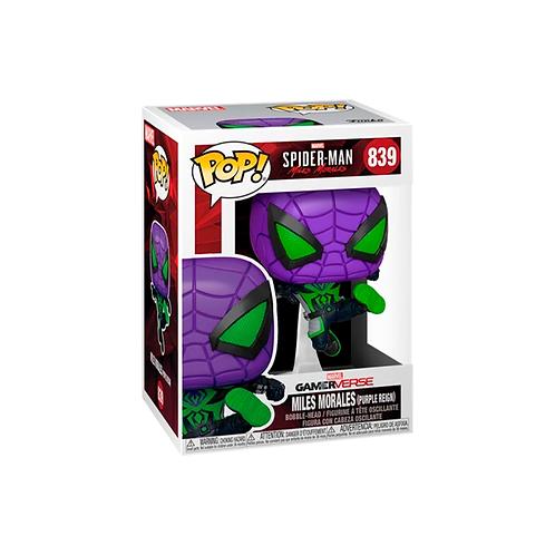 POP! Vinyl Figure   Spider-Man: MM: Miles Morales (Purple Reign) 839