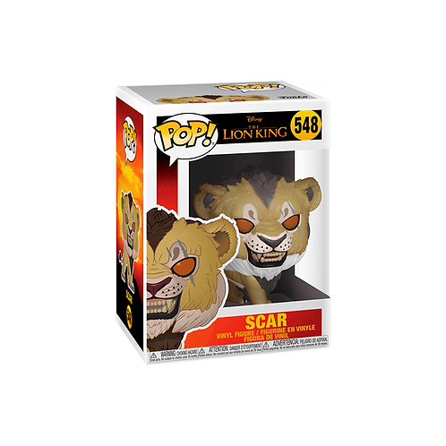 POP! Vinyl Figure | The Lion King: Scar 548
