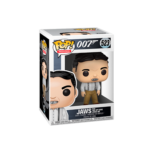 POP! Vinyl Figure | 007: Jaws From The Spy Who Loves Me 523