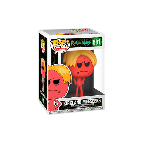 POP! Vinyl Figure | Rick And Morty: Kirkland Meeseeks 661