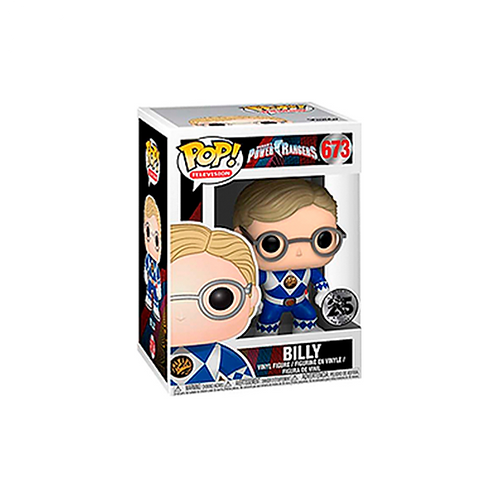 POP! Vinyl Figure | Power Rangers: Billy 673 (You Have Got The Power)