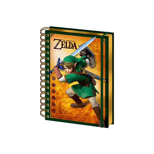 A5 Notebook (3D) | The Legend Of Zelda: Link