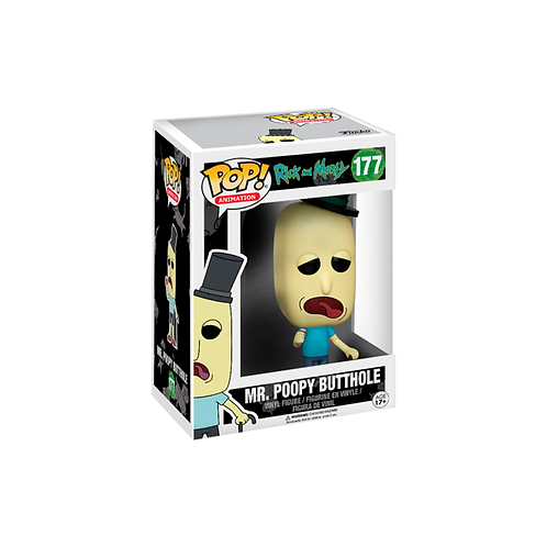 POP! Vinyl Figure | Rick And Morty: Mr. Poopy ButtHole 177
