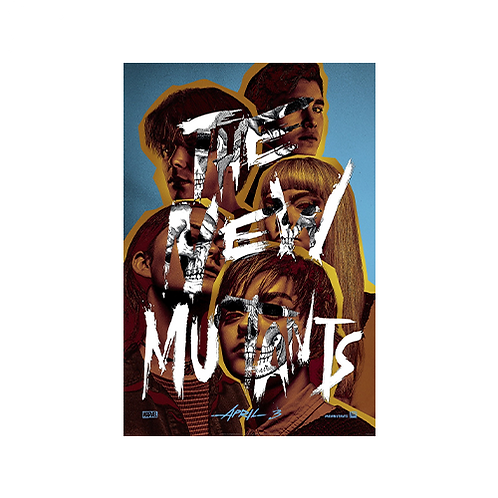 Poster A3 | The New Mutants #1