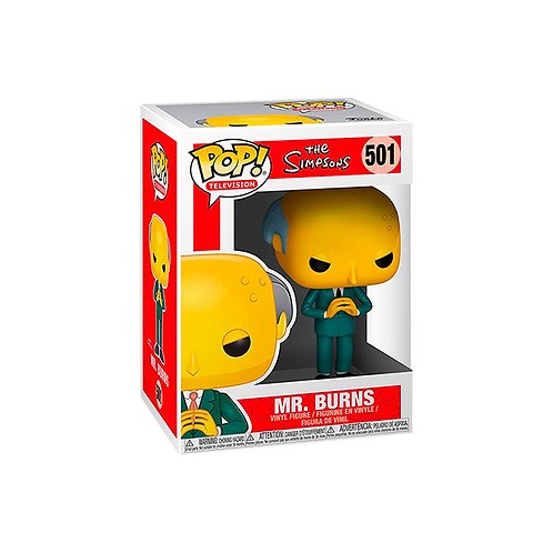 POP! Vinyl Figure | The Simpsons: Mr. Burns 501