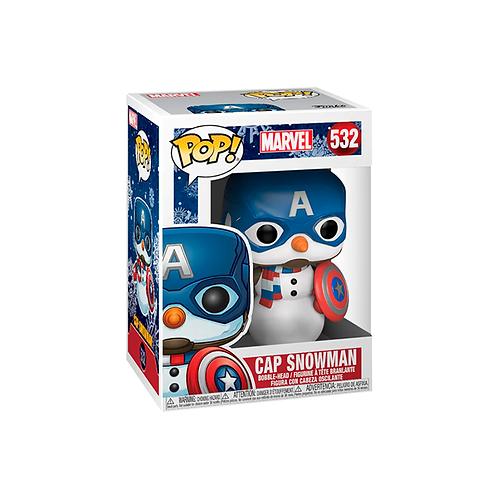 POP! Vinyl Figure | Marvel: Cap Snowman 532