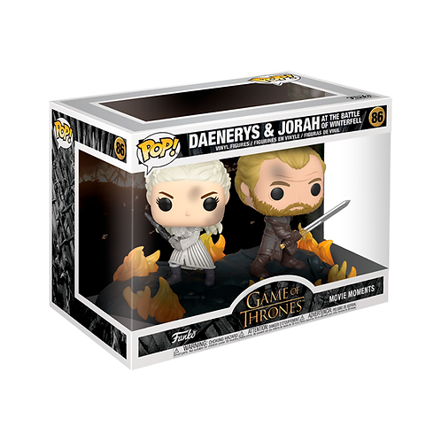 POP! Vinyl Figure | GOT: Daenerys & Jorah At The Battle Of Winterfell 86