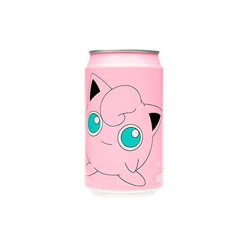 Sparkling Water   Ocean Bomb: PeachFlavour (Pokémon: Jigglypuff) (330ML)