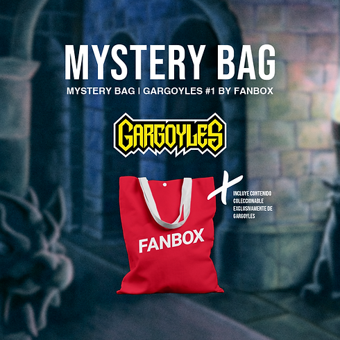 MYSTERY BAG | Gargoyles #1
