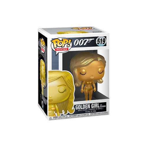 POP! Vinyl Figure | 007: Golden Girl From Gold Finger 519