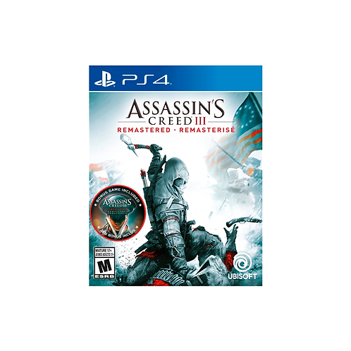 PS4   Assassin's Creed III (Remastered)