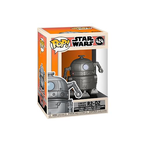 POP! Vinyl Figure | Star Wars: R2-D2 (Concept Series) 424