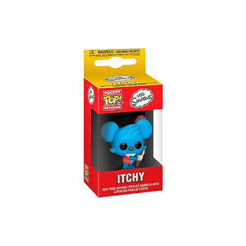 Pocket POP! Keychain | The Simpsons: Itchy