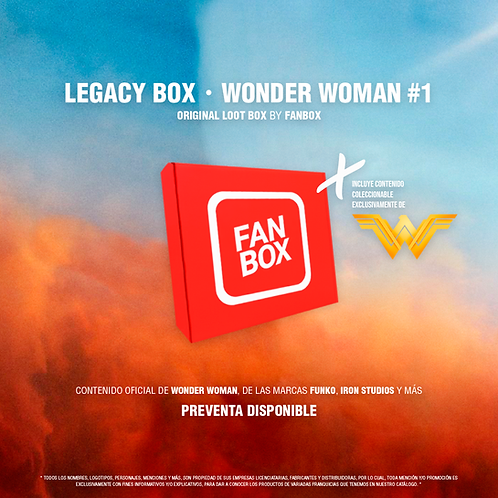 LEGACY BOX | Wonder Woman #1