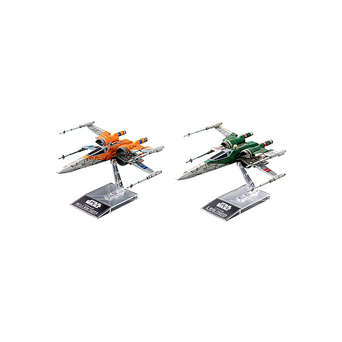 Plastic Model Kit | Star Wars: Poe's X-Wing Fighter & X-Wing Fighter (ROS)