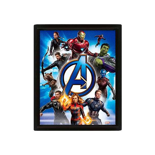 Poster Print (3D) | Avengers: EndGame: To Action