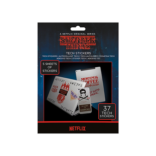 Tech Stickers   Stranger Things #1