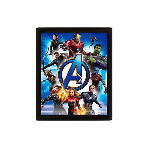 Poster Print (3D)   Avengers: Endgame: To Action