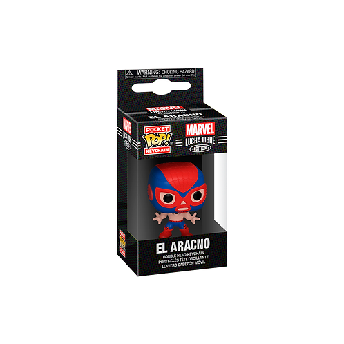 Pocket POP! Keychain | Marvel: Lucha Libre Edition: El Aracno