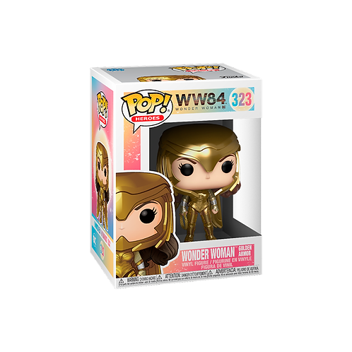POP! Vinyl Figure   WW84: Wonder Woman (Golden Armor) 323