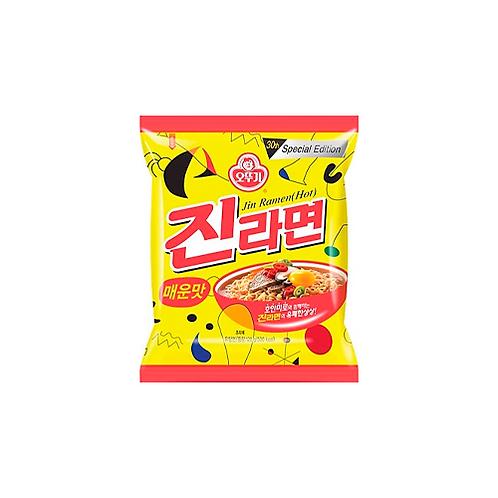 Instant Noodle   Jin Ramen (Hot): Spicy Flavour (120G)