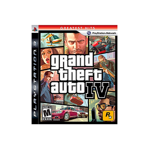 PS3   Grand Theft Auto: IV (Greatest Hits)