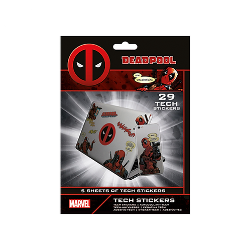 Tech Stickers | Marvel: Deadpool #1