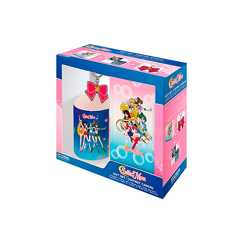 Gift Set   Sailor Moon: Notebook, KeyChain & Mug