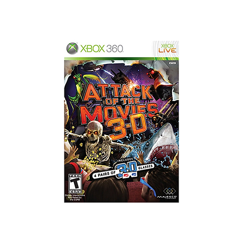 XBOX 360 | Attack Of The Movies 3D