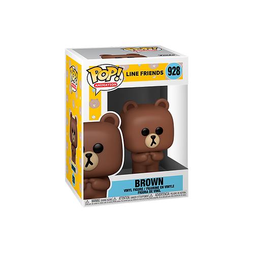 POP! Vinyl Figure | Line Friends: Brown 928